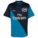 11-12 Arsenal Awey Shirt