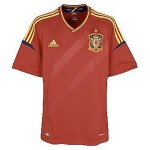 11-12 Spain Home Shirt